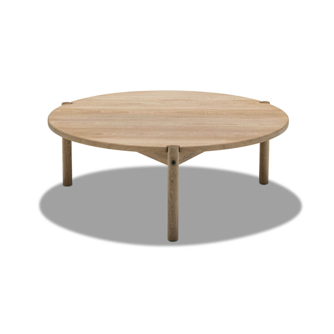 Lola Coffee Table With Storage: Irene Round Coffee Table
